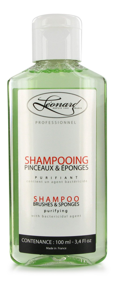 Shampoing pinceaux & eponges 100ml LEONARD