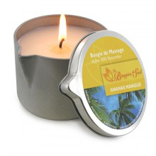 Bougie de massage Ananas Mangue BDS005