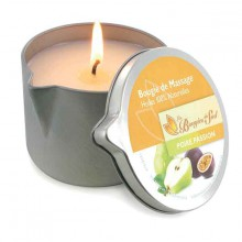 Bougie De Massage Poire Passion 160g