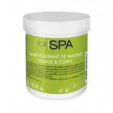 Baume fondant massage visage&corps 200g FOR SPA