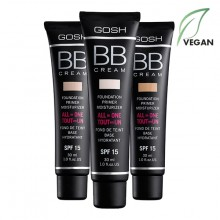 BB Cream Foundation-Primer-Moisturizer 30ml GOSH GBBC
