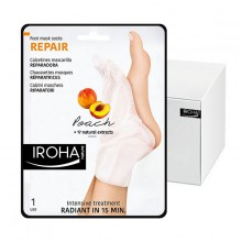 Chaussettes Iroha masque reparateur peche pieds ongles x24 Paires INFOOT2R