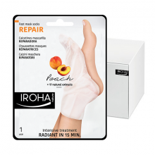 Chaussettes Iroha réparation&relaxation pêche x15 paires INFOOT2R15