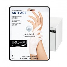 Gants Iroha Masque Anti-Age Pearl Mains Ongles x15 Paires