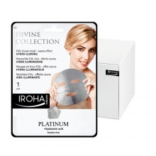 Masque foil PLATINE Illuminateur Divine Collection IROHA x15