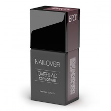 OVERLAC GEL COLOR BR01 15ML