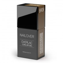 OVERLAC GEL COLOR BR08 15ML