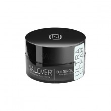 Builder gel ultra clear 15ml NAILOVER