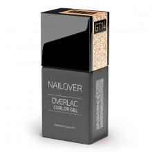 NAILOVER OVERLAC GEL COLOR GT14 15ml