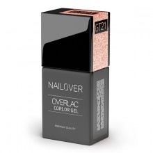 OVERLAC GEL COLOR GT21 ROSE GOLD 15ml