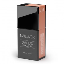 OVERLAC GEL COLOR ND18 15ML