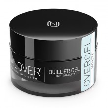 NAILOVER OVERGEL WHITE 50ml NLOVERGELWHITE