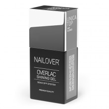 Topcoat UNICA baby boomer 15ml NAILOVER NLTOPUNICABABYBOOM