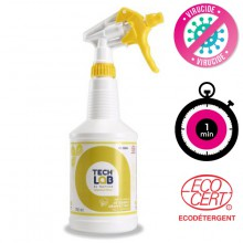 Techlab spray désinfectant virucide toutes surfaces PLG395055