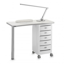 Table de manucure zip blanche