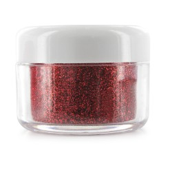 Paillettes Fines Ongles Rouge 10G