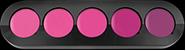 Palette Ral 5 Coul Rose Violet